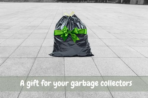 Appreciation for the trash collectors