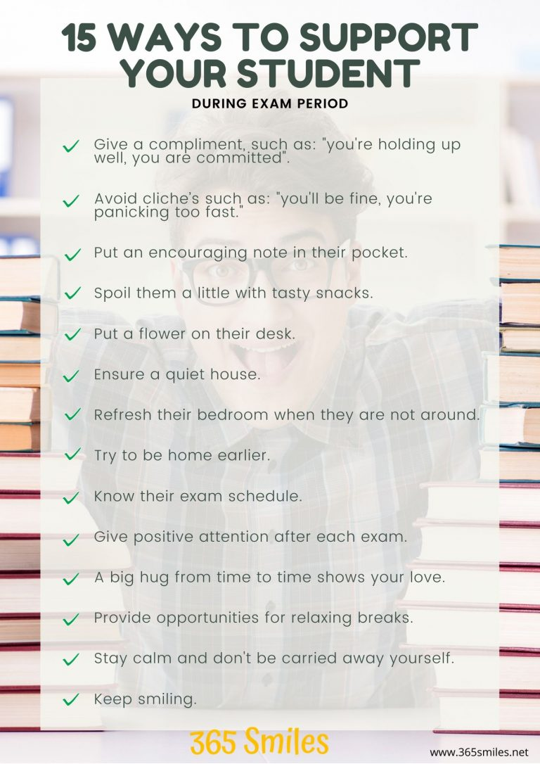 checklist to support students