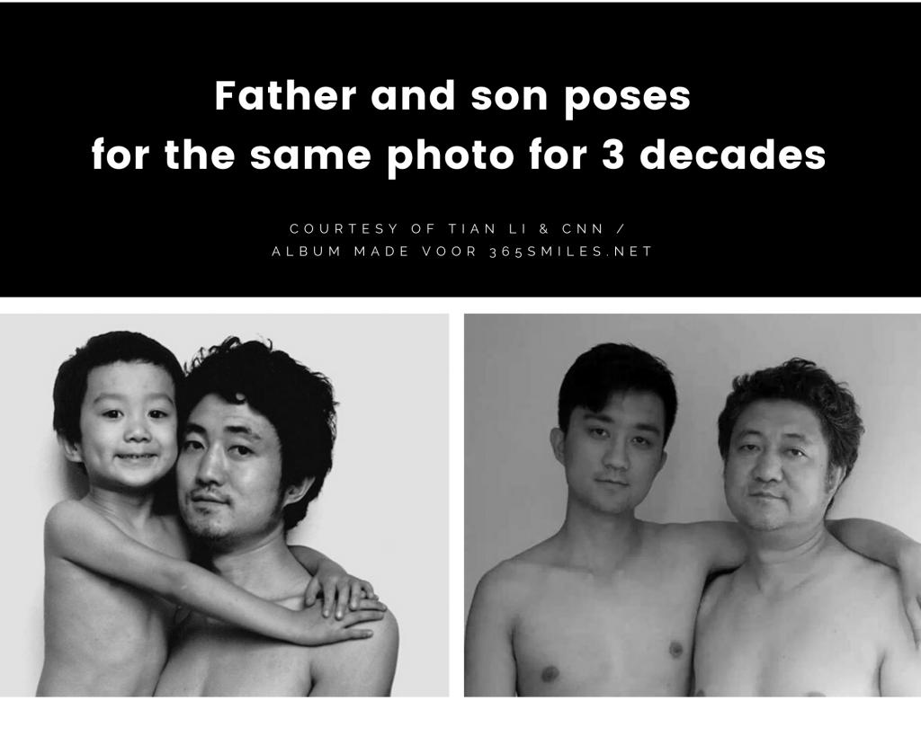 Tian Li and his father