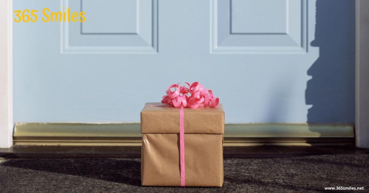 leave a gift for your mailman