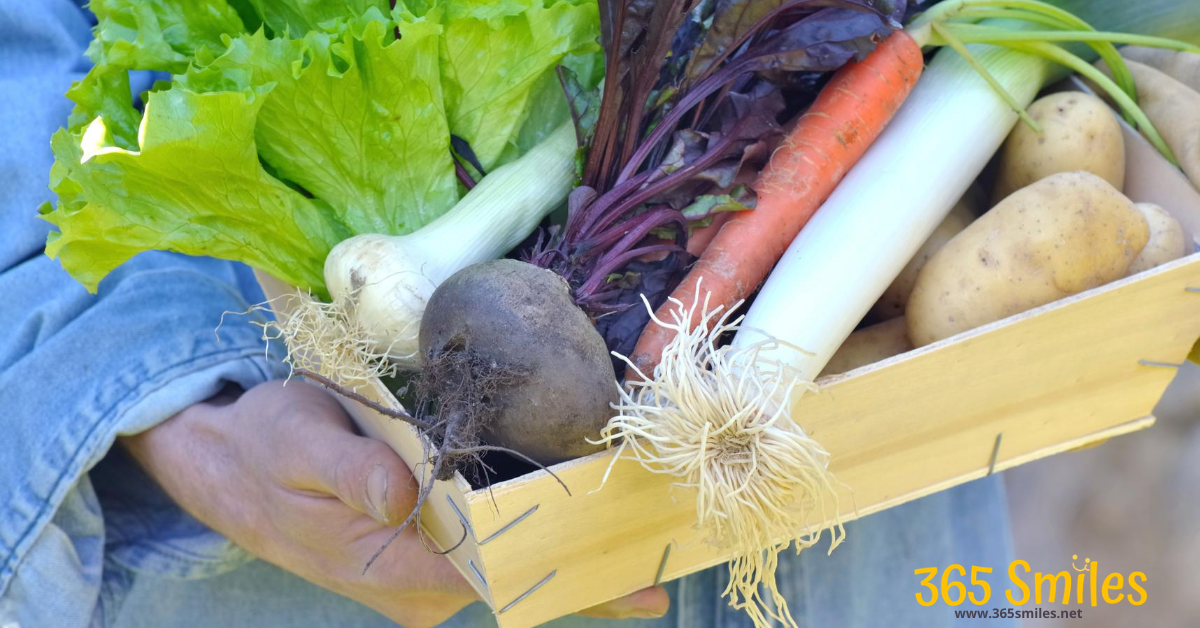 Buy food from a local CSA for better health