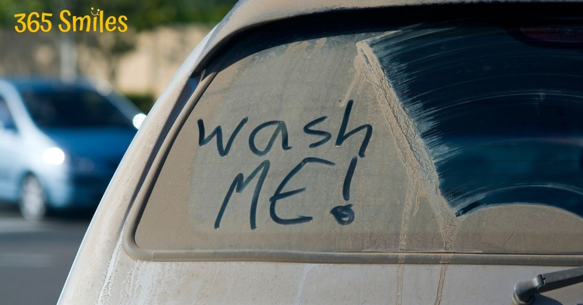 wash the car of your partner
