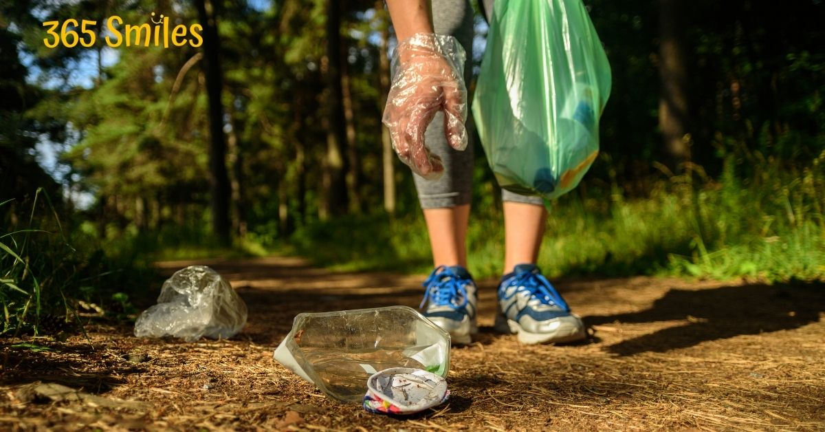 Clean up litter on your next walk