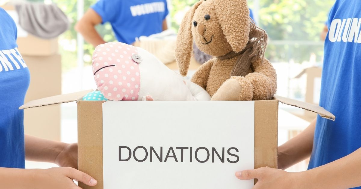 Donate your toys