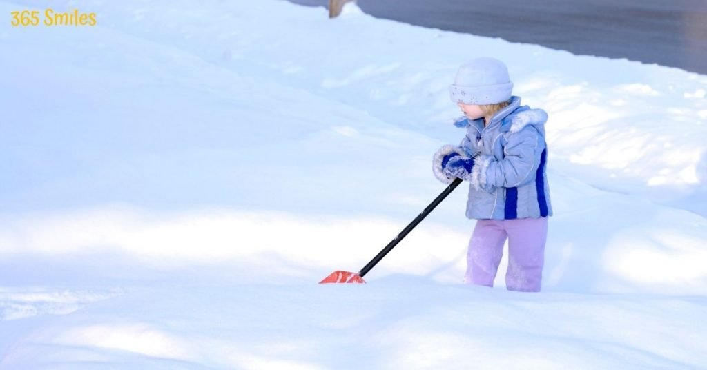 Shovel the snow for your neighbour