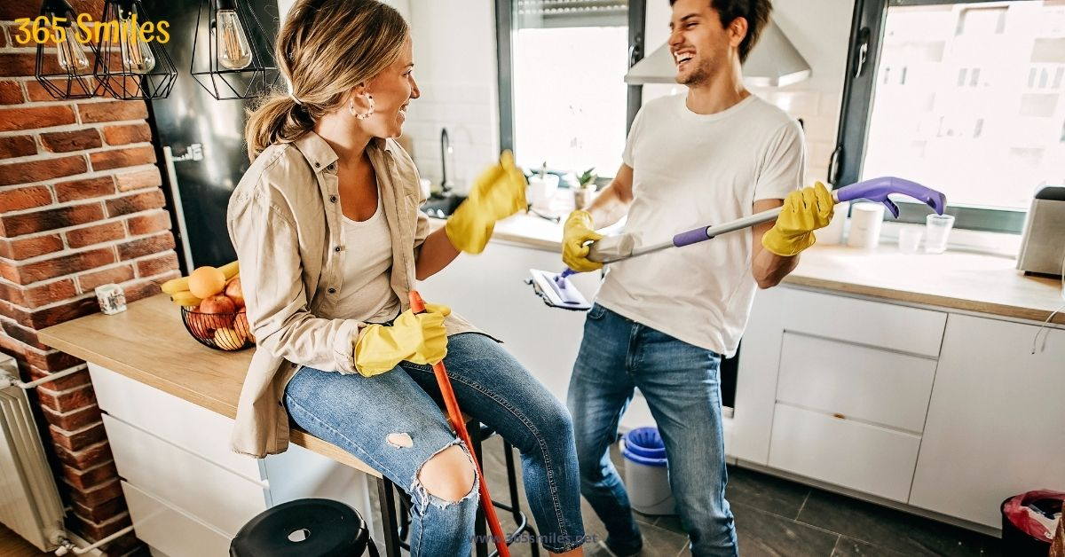 help you friends with chores when they have a difficult time