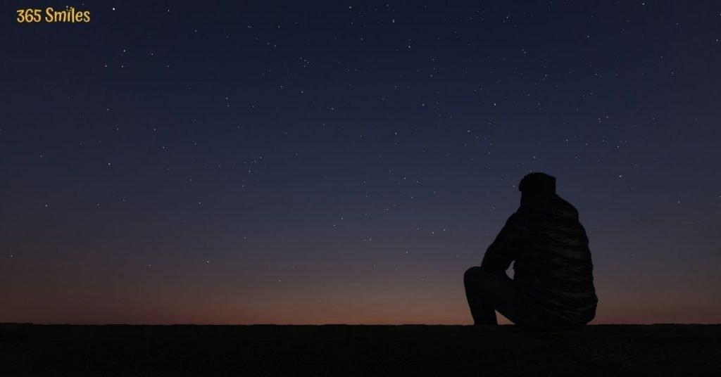 Enjoy the beauty of a starlit sky