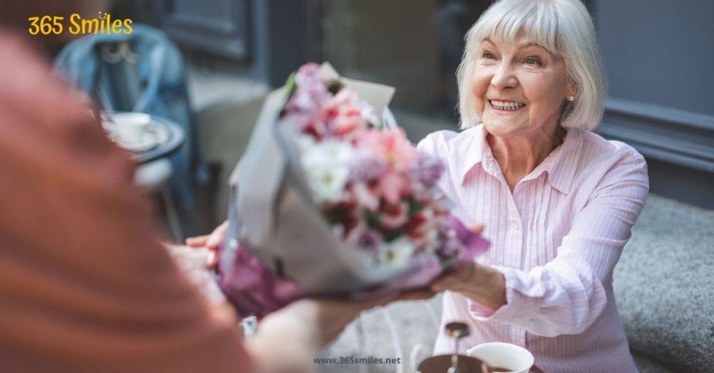 bering your parents flowers
