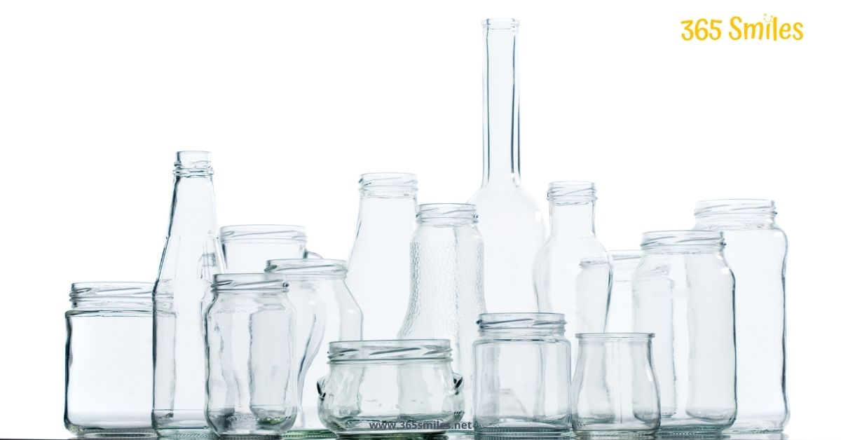 Choose for products packaged in glass, instead of plastic