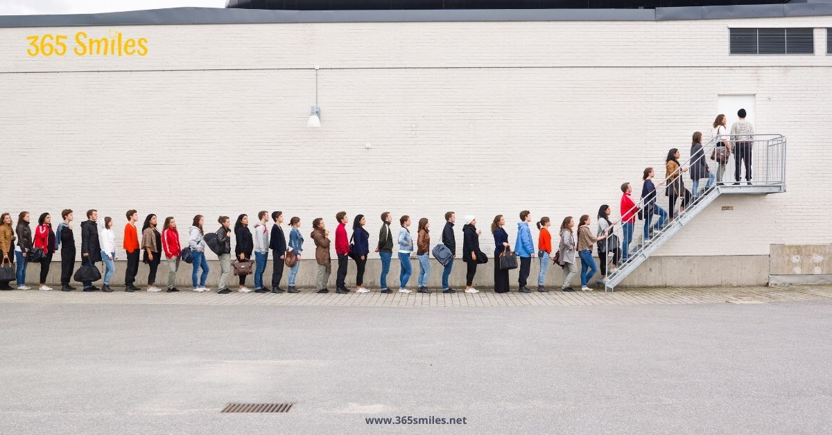 let someone take your spot in the queue
