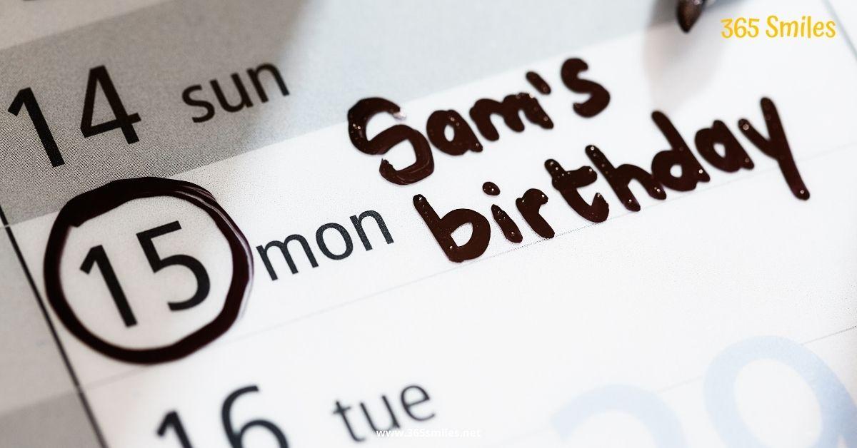 Herinner de verjaardagen van je vrienden