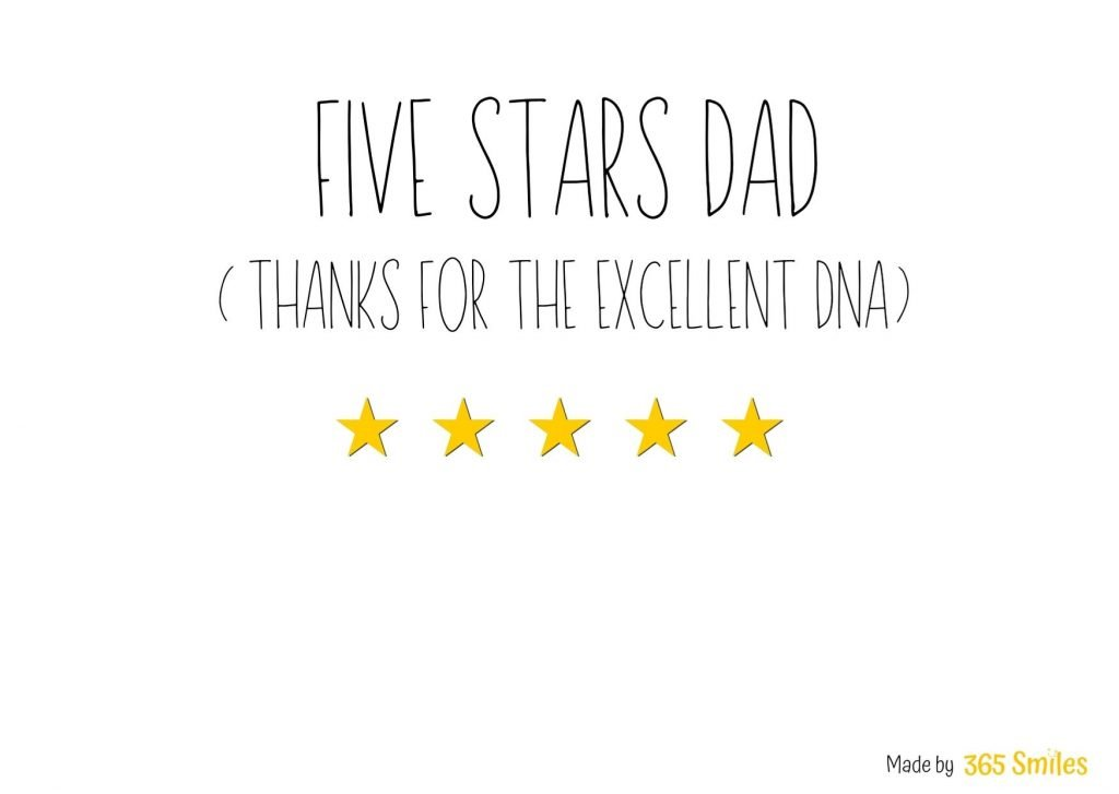 Father's day card - 1